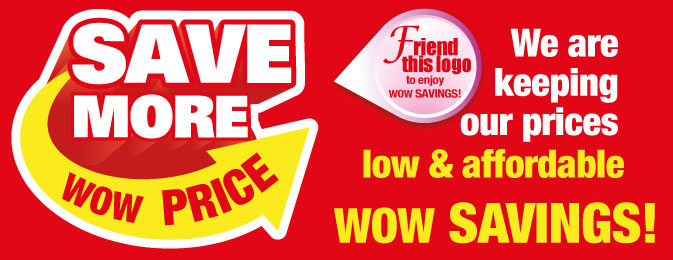 SAVE MORE Wow Price
